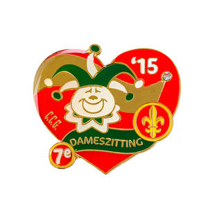 China Factory Wholesale Disney Gifts Carnaval Cartoon Character Animal Brooches Metal Badge Lapel Pins