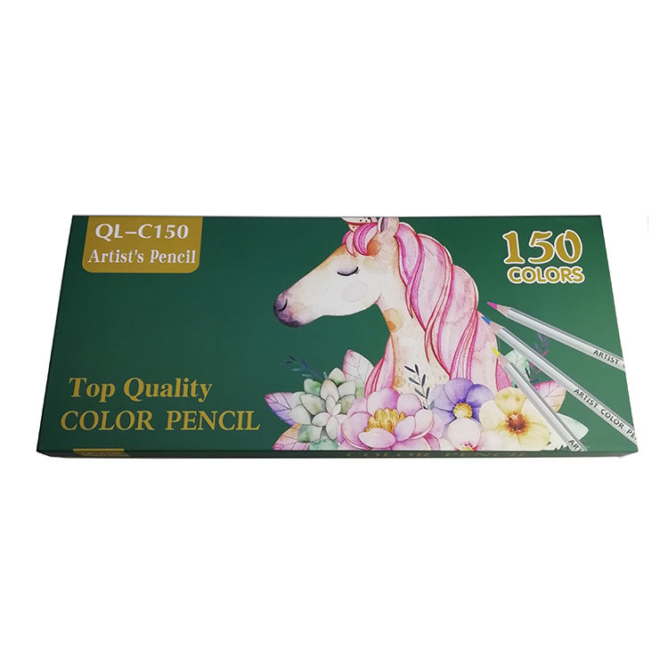 High Quality 150 Colors Oil Based Artist Pencil, 150 Colors Colored Pencil