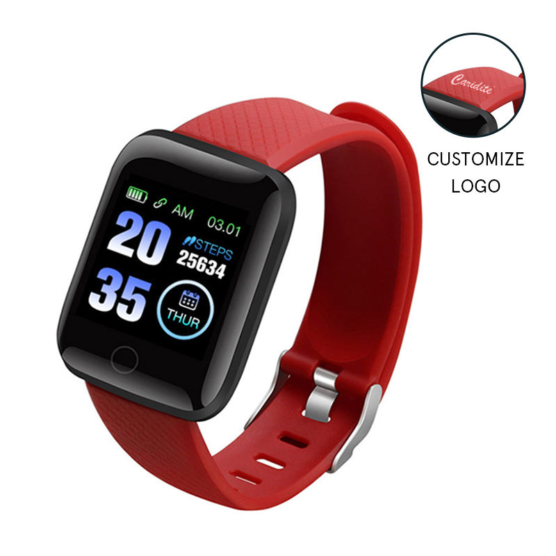 Amazon 2021 Hot Selling Smart Watch 116 Plus Waterproof Heart Rate Tracker Blood Pressure Oxygen Exercise Children'S Smart Watch