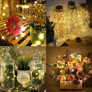 300 LED Solar string light outdoor holiday light Christmas decoration lights Fairy Lights solar copper wire string lights