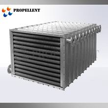 Industrial fixed tube copper fin copper tube heat exchanger for greenhouse air to air cooler