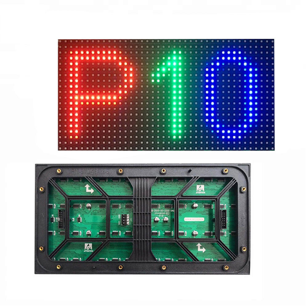 Warranty 2 years energy-saving outdoor led panel rgb P10 SMD led display module