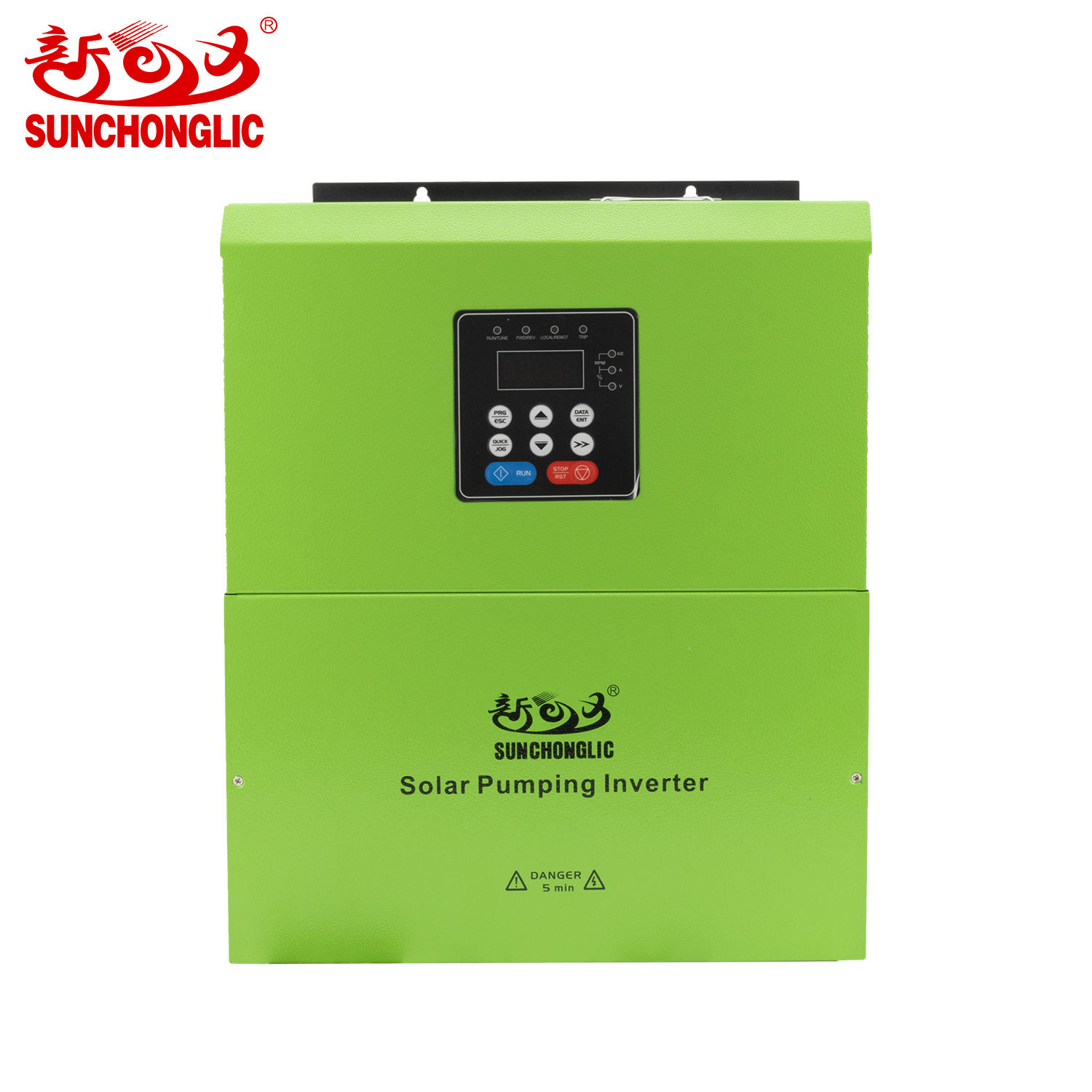 Sunchonglic 11kw 380v three phase water pump inverter solar water pump controller