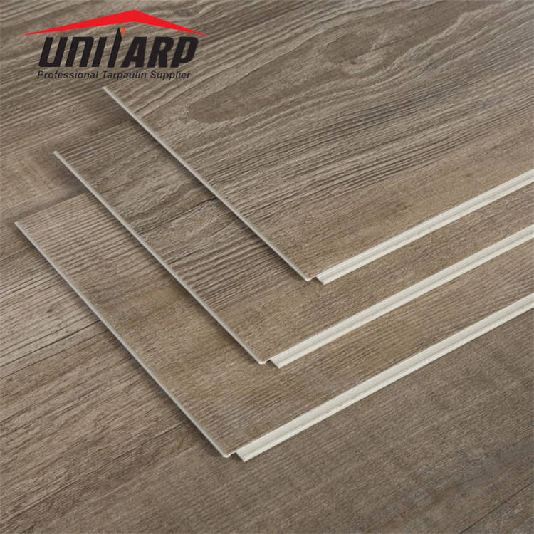 Spc pvc wpc lvt floor with wonderful various colors suitable for heating system