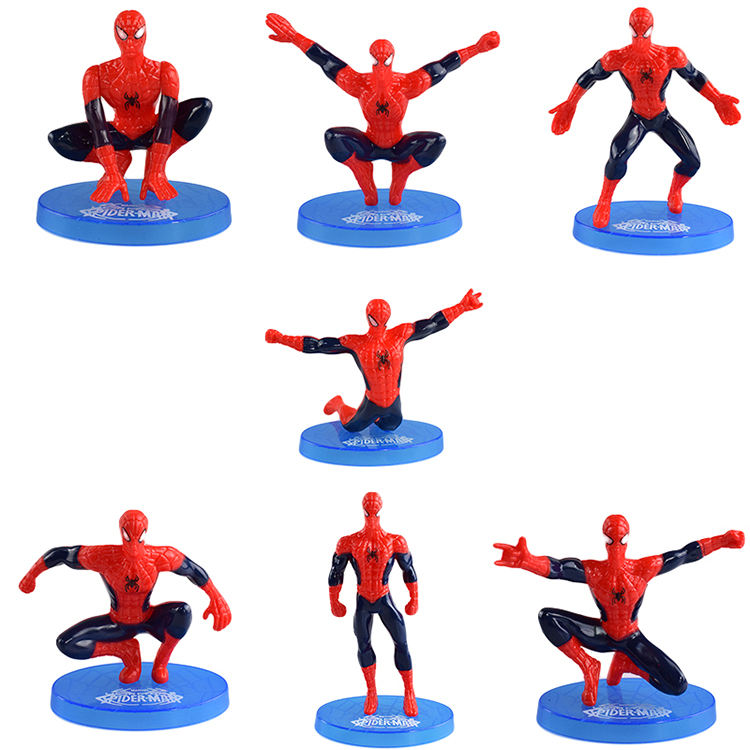 Best selling Spider-Man plastic action figure Spider-Man collection model toy