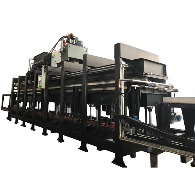 Widely Used Discontinue PU Sandwich Insulated Panel Roll Forming Machine