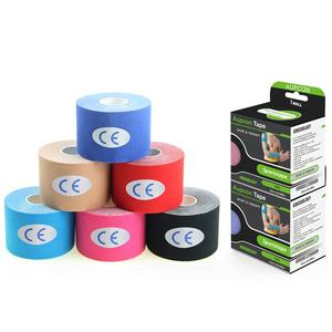 Directly Factory Sport Cotton Roll Tape 5cm X 5m Muscle Support Kinesiology Tape