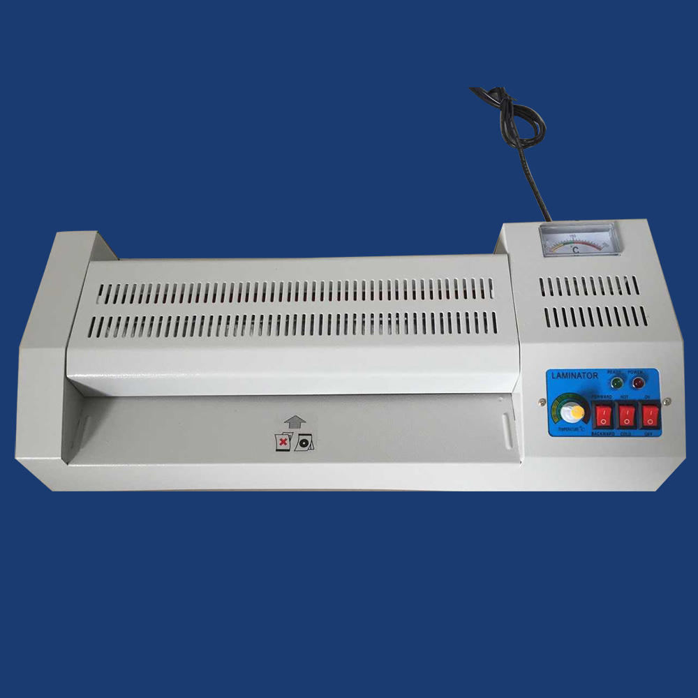 manual a4 a3 320 id card roll laminator machine