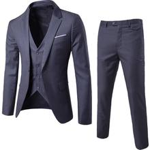 High-End Suits 3 Pieces Men Suit