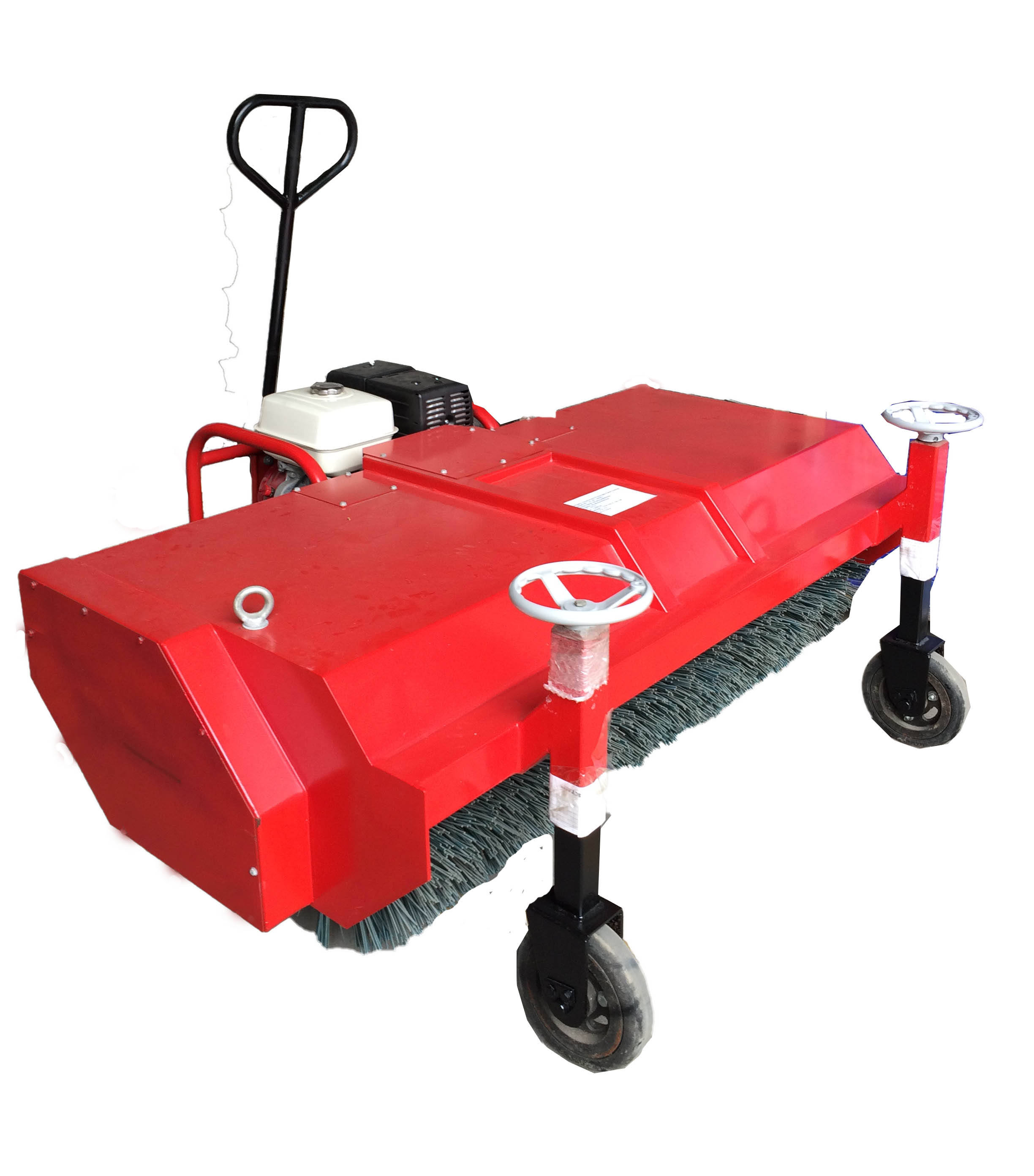 Artificial grass brushing machine, installation tools for synthetic turf