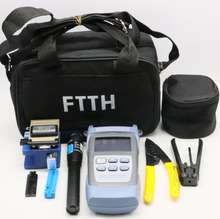 the new factory mini promotional ftth cleaver fiber fusion splicing cable jointing bag tool kit