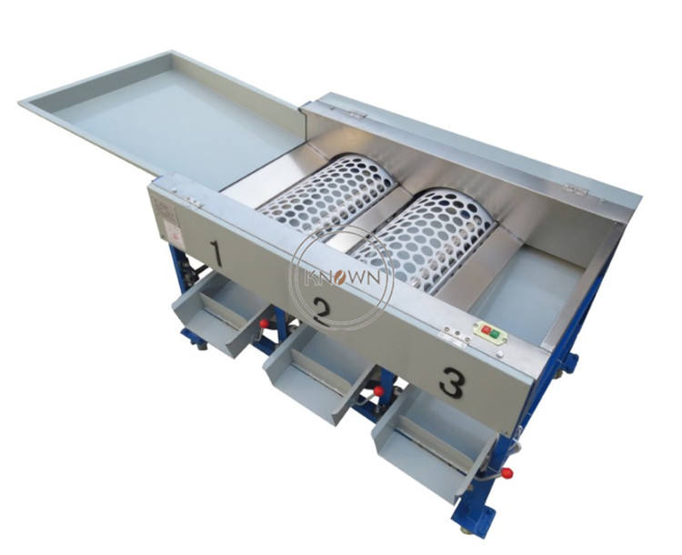 Automatic Vegetable Sorting Machine 2020 New Style Fruit Washing 3 Grade Onion Potato Apple Grading Equipents