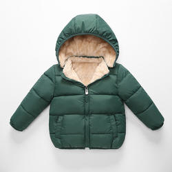 Factory Sale Winter Children's Coats Warm Thick Girls' Jackets Fleece Fashion Boy's Jackets Baby Clothes