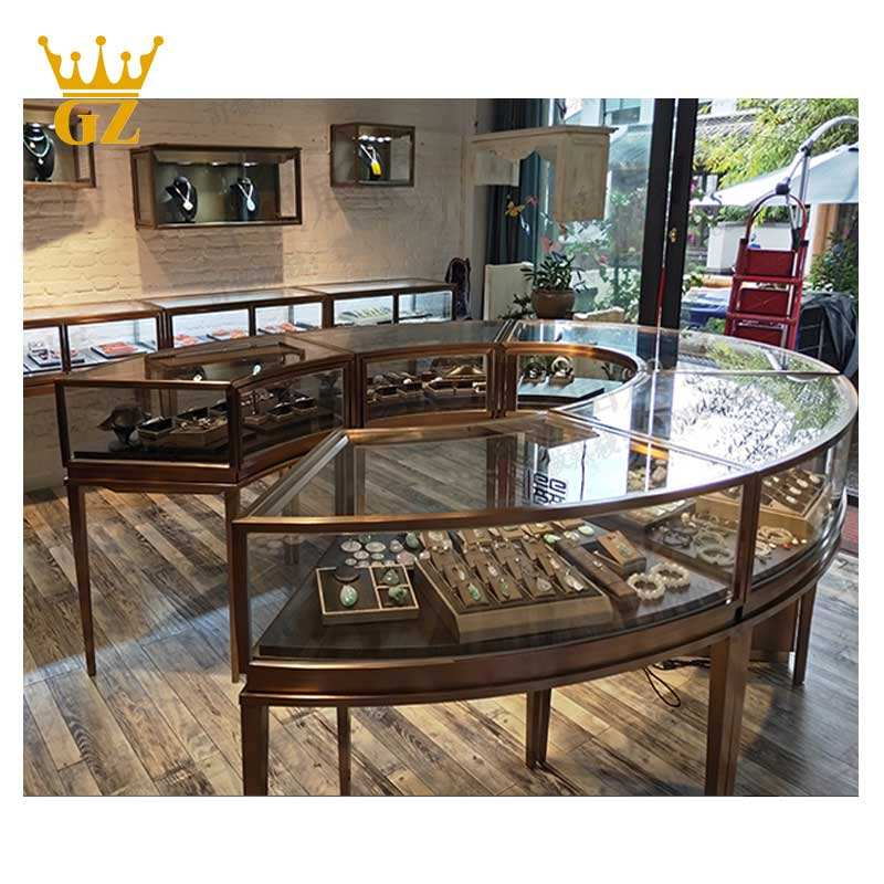 Top quality store floor plan maker for jewellery shop deco