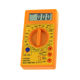 Yellow DT830D Digital Multimeter Buzzer Tester Electrical Multimetro AVO Meter Multitester for School & Home use