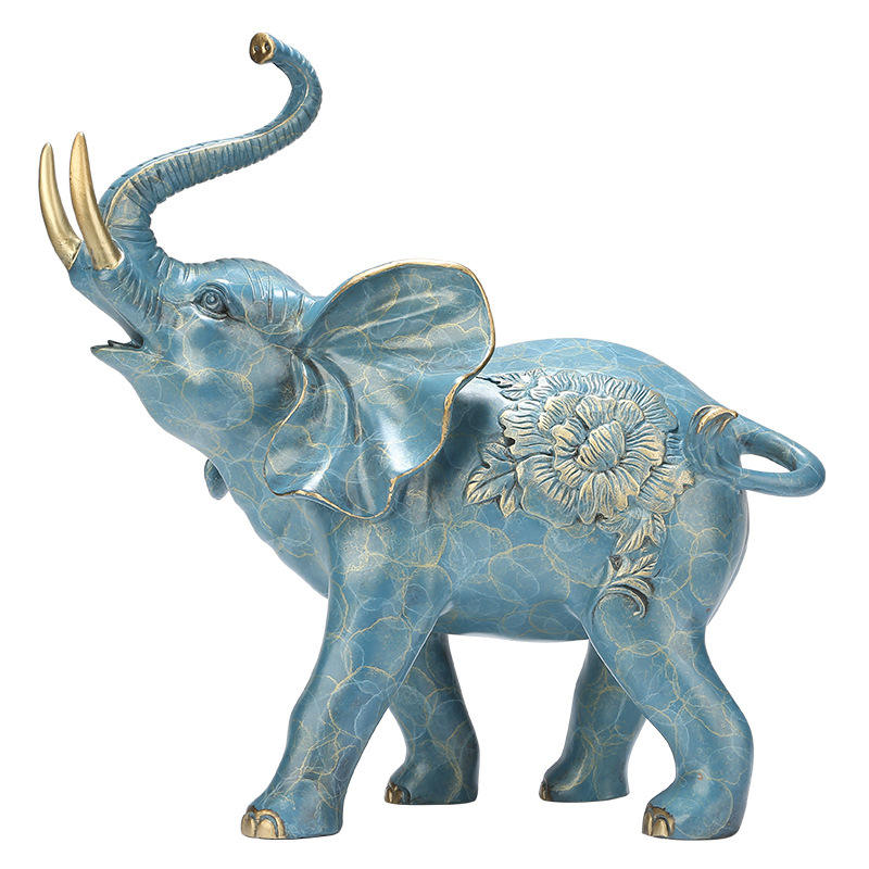 Feng Shui Decor Producten Dropship Items Levensgrote <span class=keywords><strong>Koper</strong></span> Brons Indoor Olifant Standbeeld