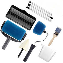 Paint Roller Kit Paint Runner Pro Roller Brush Handle Tool