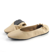 Fashion Women Shoes Lady Flat Casual Foldable Ballerina Slippers with Competitive Price New Zealand