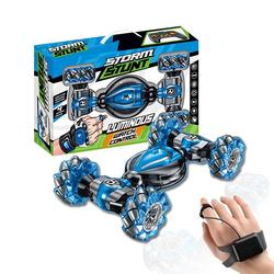Kids 2.4 GHZ Rolling Climbing Twist Hand Watch Rc Toys Gesture Stunt Remote Control Car