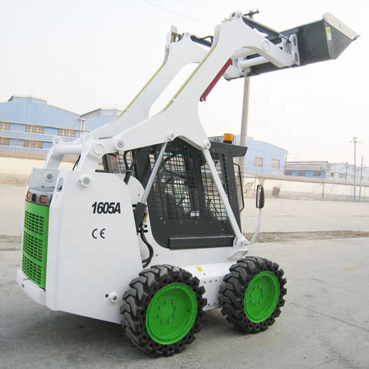 Skid Steer Loader Wecan WT1605A 1600Kg Mini Pista Loader