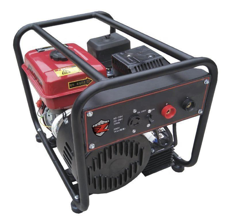 air cooled 4 stroke DC 230V welding generator DC-WG120A