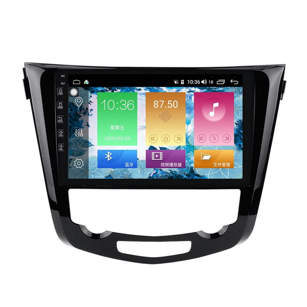 M Series 2DIN Android Car Video Navigation Player For Nissan X-Trail T32 Qashqai 2014-2017 Car Radio Multimedia System no dvd