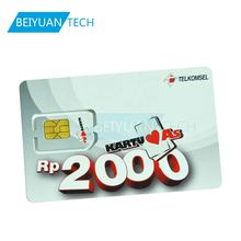 256k/128k/64k 4G LTE WCDMA GSM Nano SIM Card For Mobile