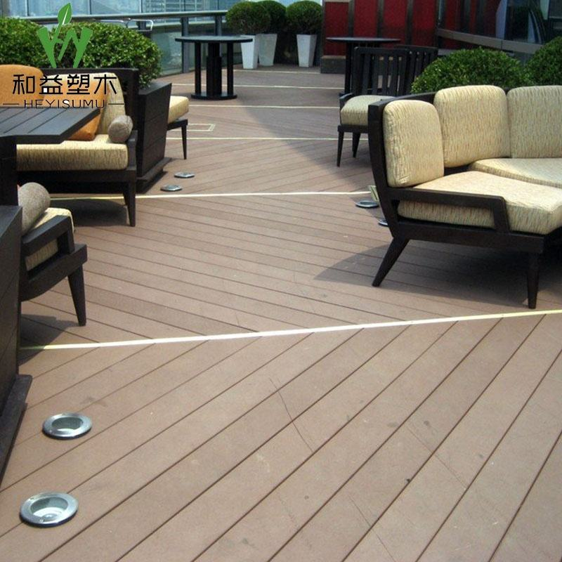 wood blade polymer plastic composite decking
