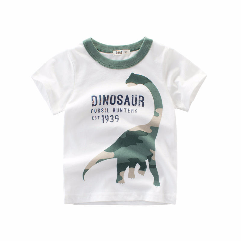 New Design Summer Fashion T-shirt Smart Casual Kids Cotton Short Sleeve Baby Boys T-Shirts Clothes For Baby Boy