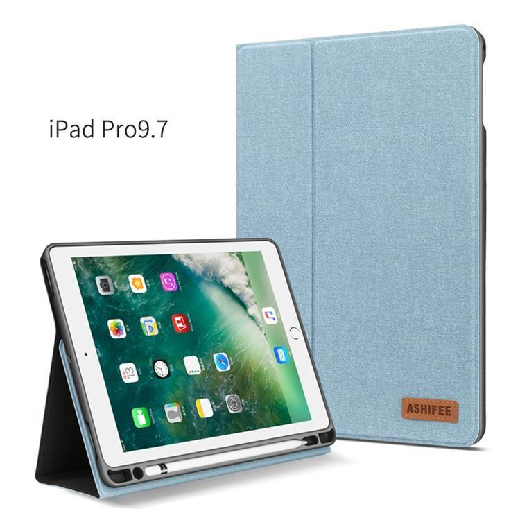 Auto Sleep Wake Funzione di Vibrazione Del Basamento Tablet Holder Per Ipad Pro 9.7 Caso
