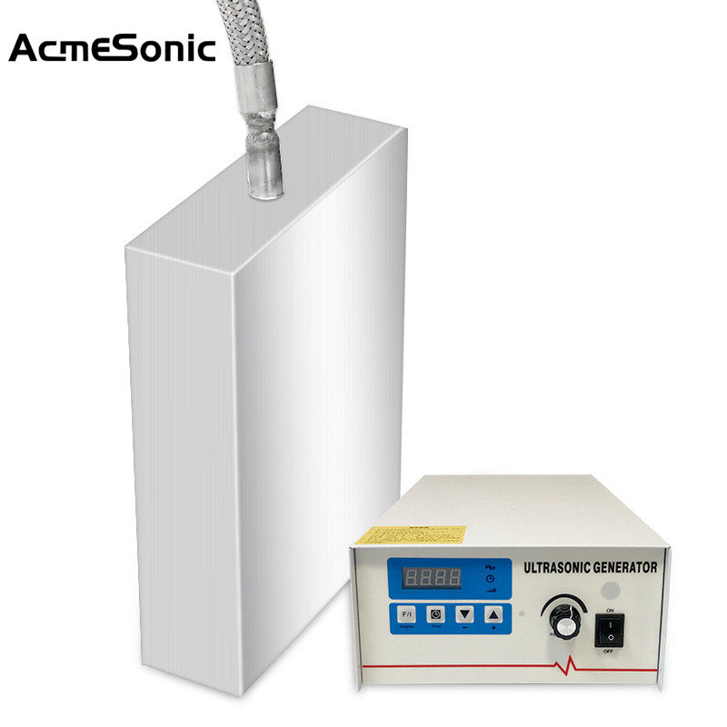 AcemSonic Ultrasonic Vibration Plate 40khz Immersible Ultrasonic Transducer for Cleaning