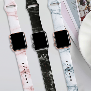 Dây Đeo Thay Thế Silicone Mềm Thể Thao Đầy Màu Sắc Cho Apple Watch Band 38MM Silicone, Apple Watch Bands Với Charm