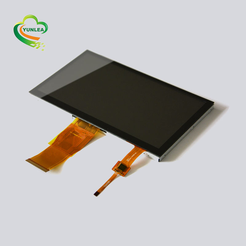 NO MOQ fast delivery 3.5 4.3 5 7 10.1 inch transparent display lcd touch screen capacitive touch panel glass