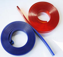 4000* 50*9mm polyurethane screen print material squeegee blade pu screen printing squeegee
