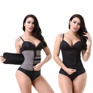 Custom Neoprene Slimming Tummy Waist Band Body Shapers Butt Lifter Waist Trimmer Belt Waist Trainer Corset