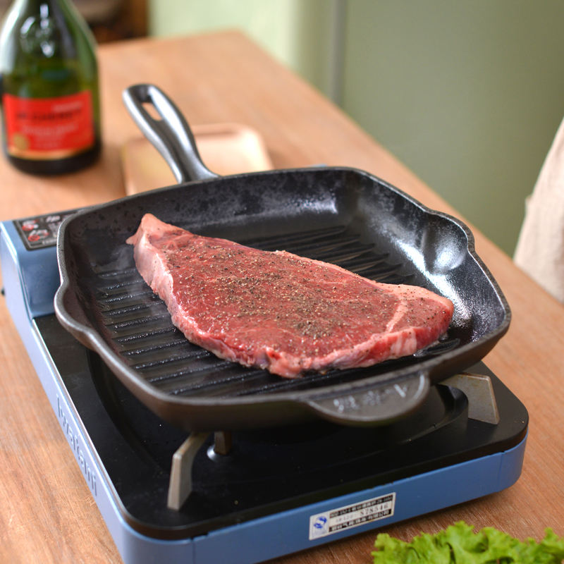 Popular Non-Stick Pan Iron Steak Pan For Steak Cast Iron Steak Pan For Home Use