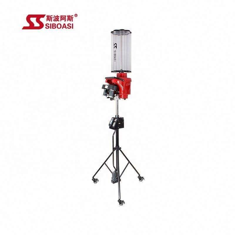SIBOASI 4025 Red black color Badminton shooting machine for wholesale