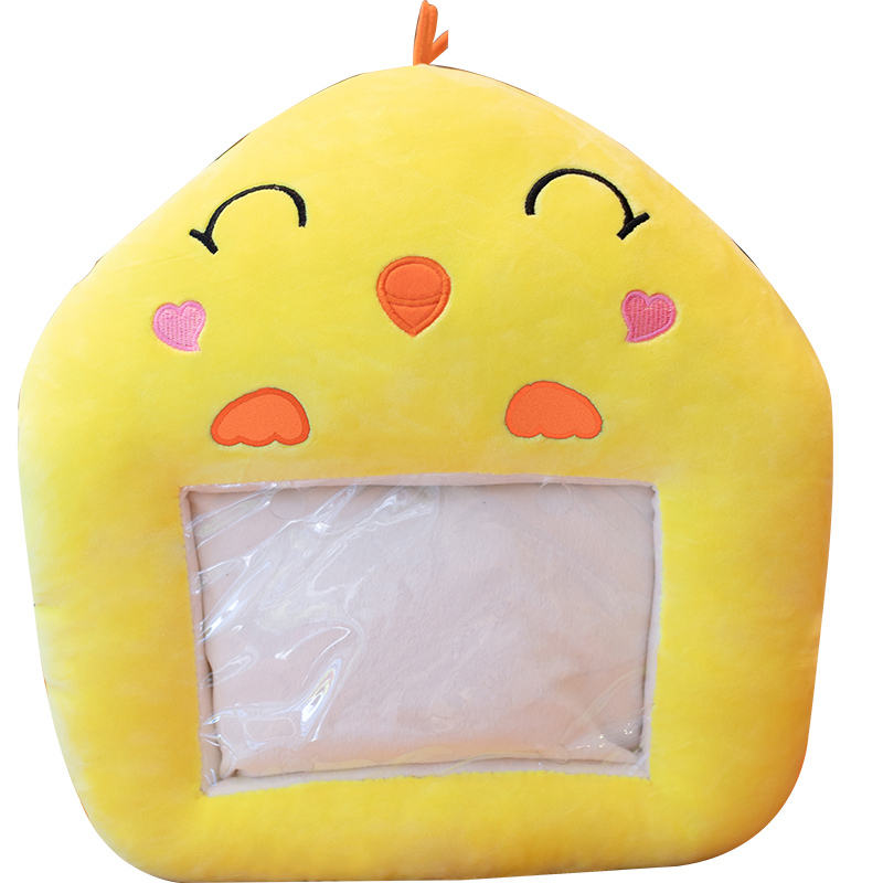 Large size warm hands cover boys and girls sleeping nap pillow student office pillow artifact cushion custom plush toy