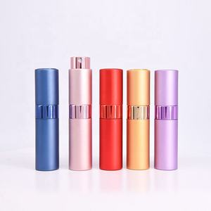 New   Original Atomizer 10Ml Perfume Bottle Twist Aluminum  Aluminum Perfume Bottles