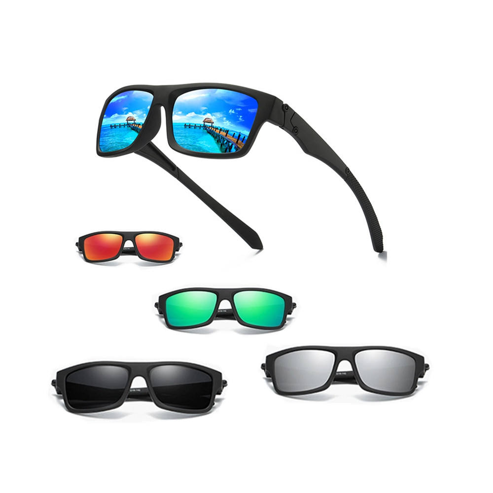 Custom Classic UV400 Bike Cycling lens Sport Polarized Sunglasses for Bike Cycling Polo Golf Beach Volley Ball Sun Glasses