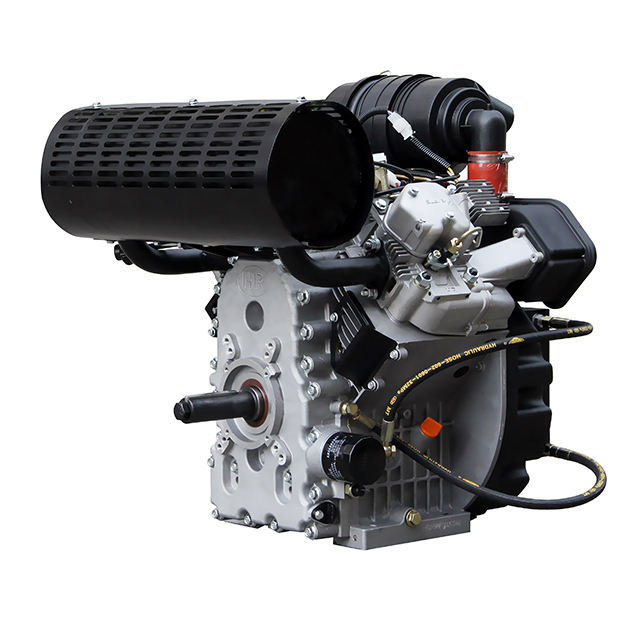 <span class=keywords><strong>30hp</strong></span> 2V98F V bicylindre refroidi par air moteur diesel