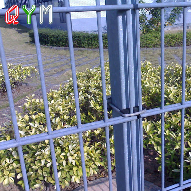 QYM-Double Wire Fence com Top Arqueado