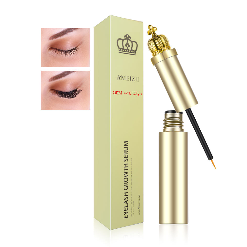 Private Label Eyelash Growth Serum Eyelashes Rapid Grow Thick Enhancer Colle Extensions De Cils Eye Lash Nourishing Care Essence