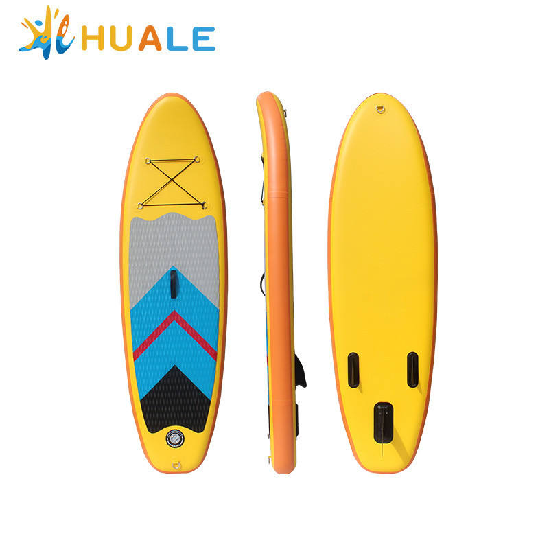 Custom good design inflatable sup board yoga for yoga and water fun