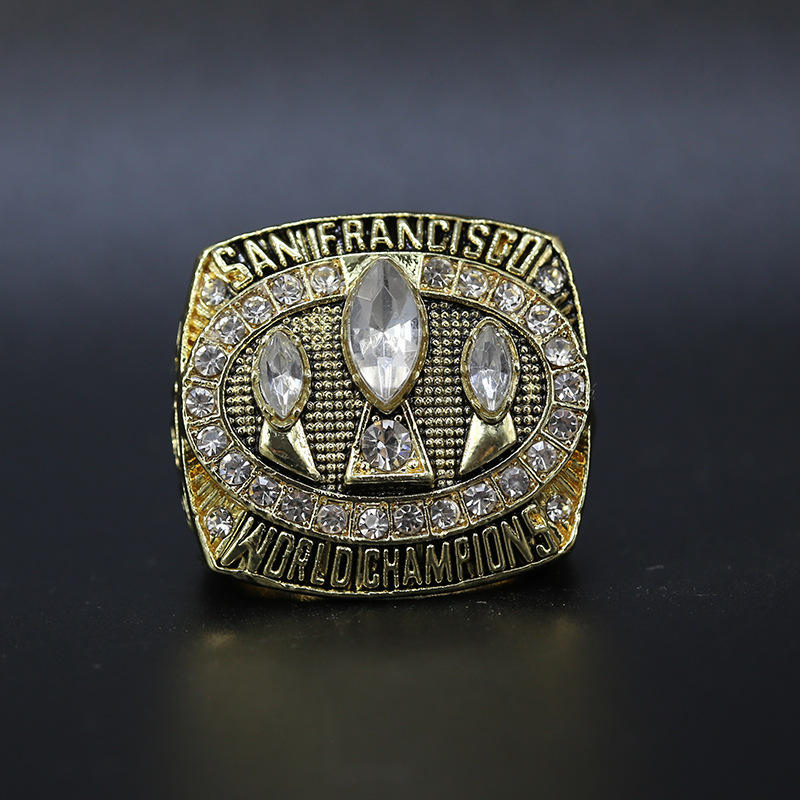 NFL 1988 San Francisco 49ers championship ring Europe and America popular memorial nostalgic classic ring
