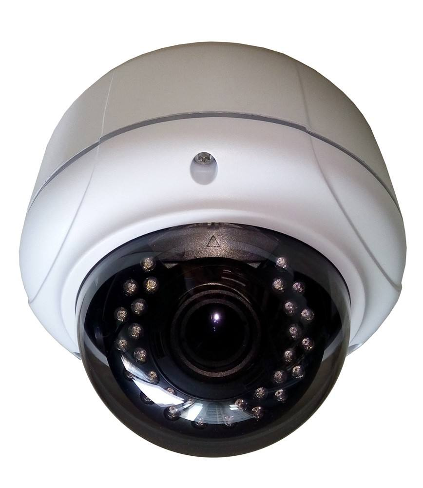 Outdoor 5MP Poe Ip Kamera 4X Zoom 2.8-12 Mm VF Lensa <span class=keywords><strong>Autofocus</strong></span> 5 Megapiksel IP Dome Camera
