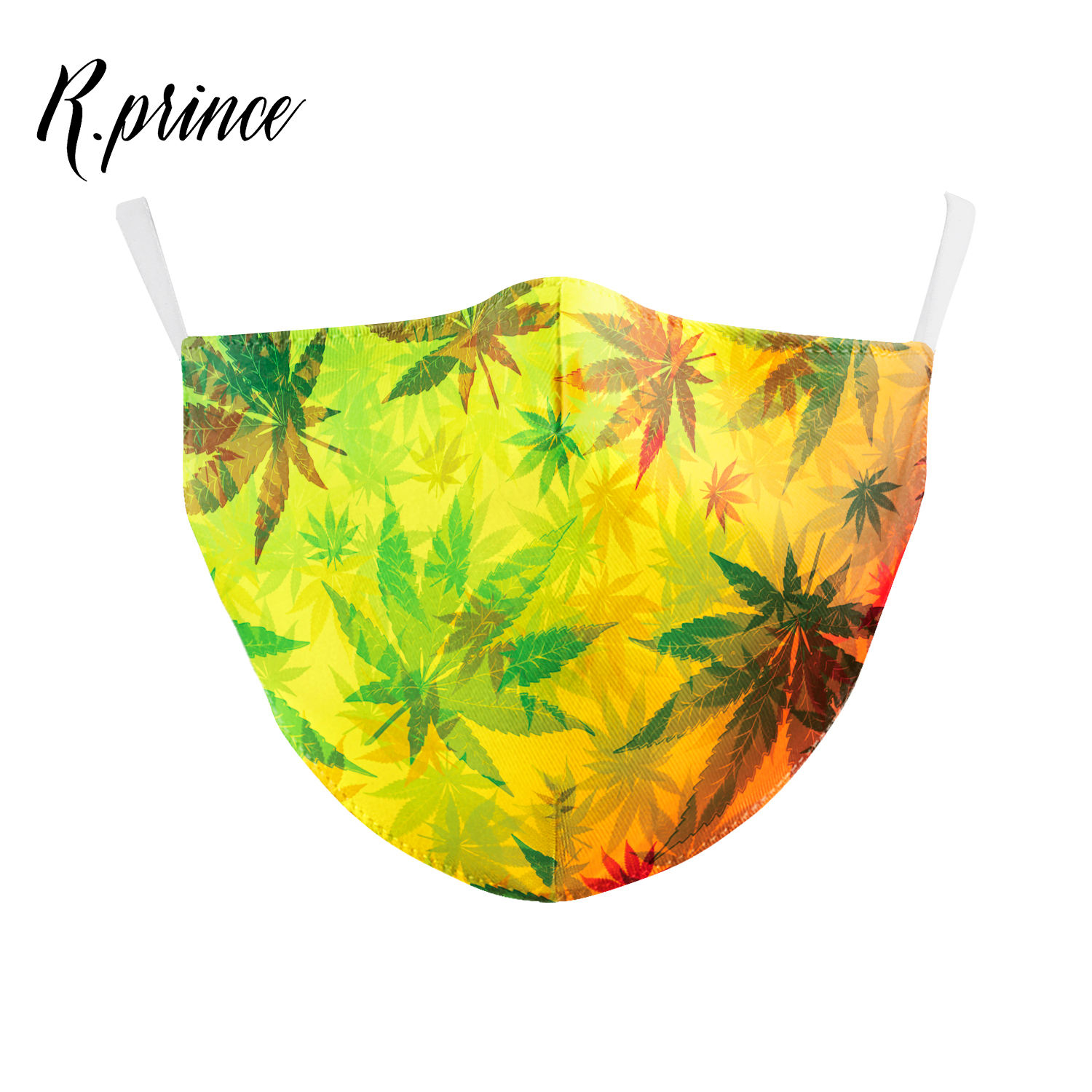Designer Fashion Vacation Series - Hawaiian Style Reusable Face Cover
