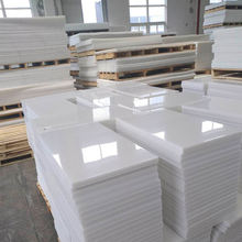 Customized high density polyethylene competitive price anti-wear environmental protection plate white sheet uhmwpe sheet