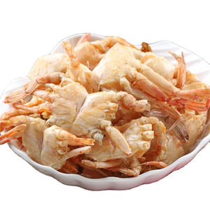 Tasty Taiwan Foods Ready To Eat Super Delicious Salt And Peppercrispy Dried Crab Snack