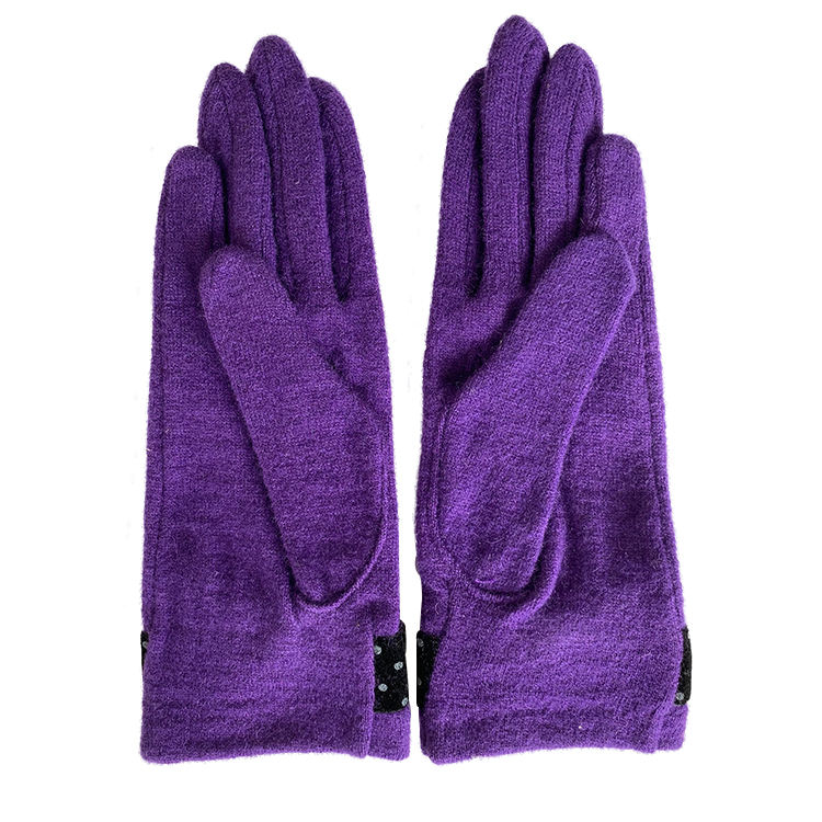 winter women stretchy warming sport women gloves